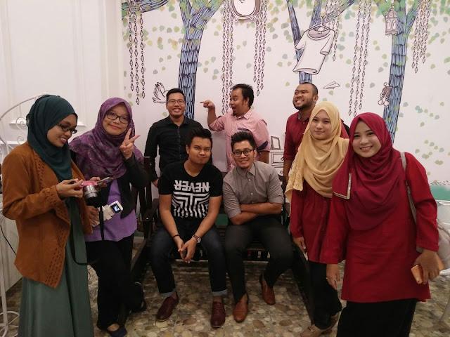 Rakan blogger yang hadir di majlsi perkenalan MERVE cosmetic