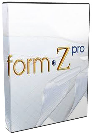 form-Z Pro 9.0.4.1 Build A12C poster box cover