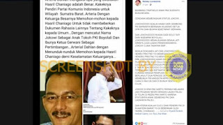 CEK FAKTA: Benarkah Bambang Trihatmodjo Bongkar Status Jokowi Anak PKI?