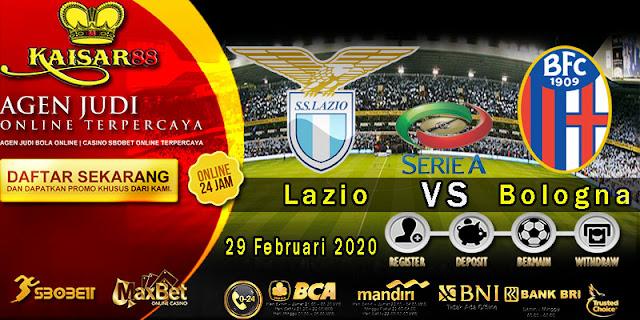 Prediksi Bola Terpercaya Liga Italia Lazio vs Bologna 29 Februari 2020