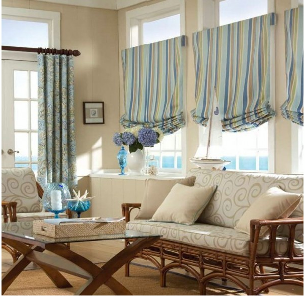 Modern furniture 2013 luxury living room curtains designs - Modern window treatment ideas ...