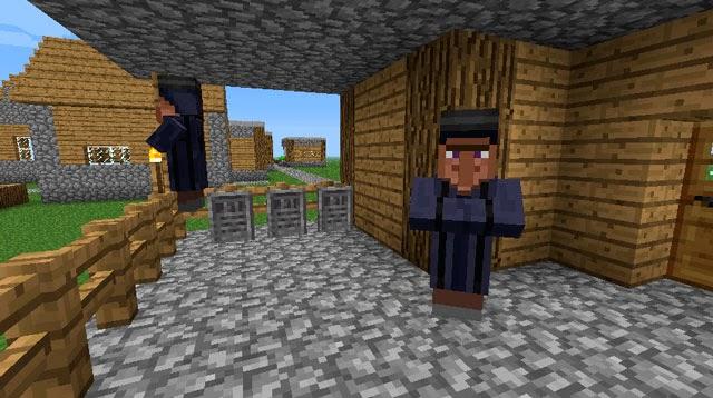 Gravestone Mod tumbas aldeanos