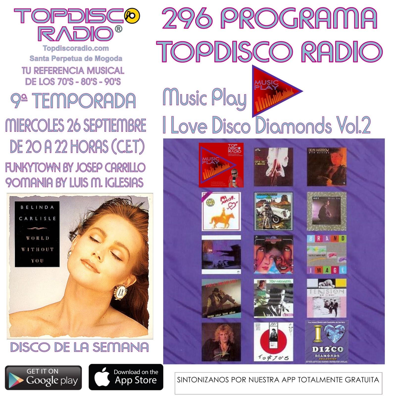 296 Programa Topdisco Radio