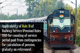 Railway Rule 31