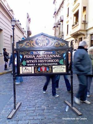 Feria de San Telmo en Buenos Aires, Argentina