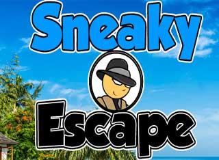 Sneaky Escape Black - Juegos de escapar