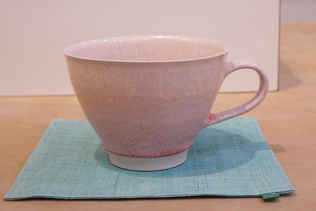 結晶釉 カップ 大(税込価格 ¥7,700) サイズ:口径11.2cm×14.0cm×高さ8.0cm