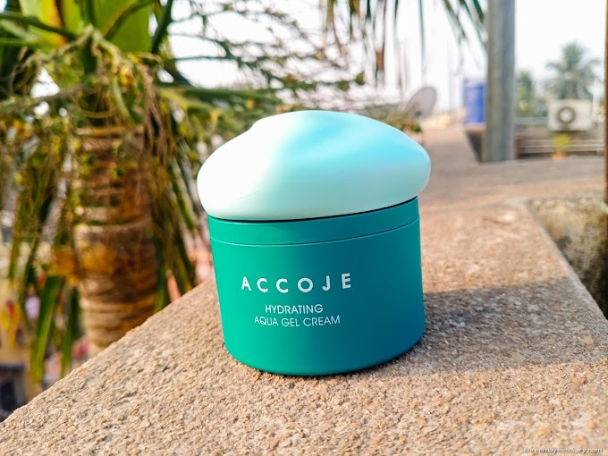 ACCOJE Hydrating Aqua Gel Cream Review