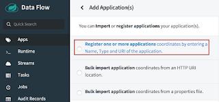 app registration