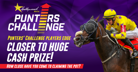 Punters' Challenge Players Edge Closer to Huge Cash Prize