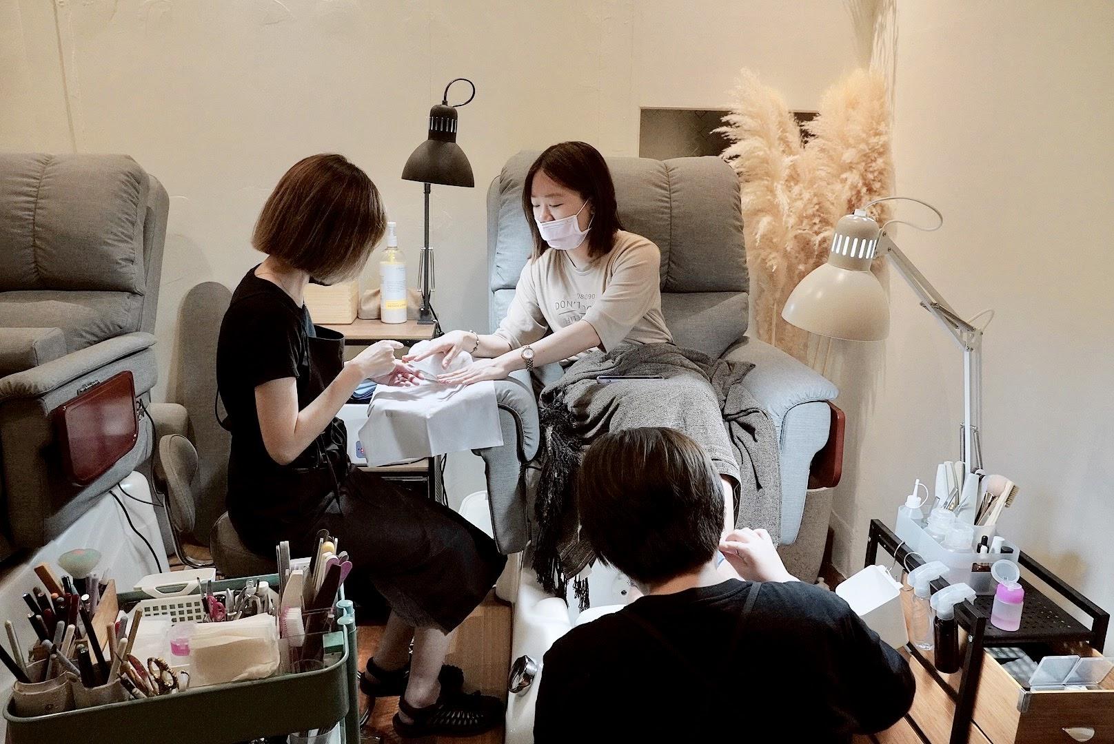 台南美甲推薦 | N&F Art Salon 手足美甲