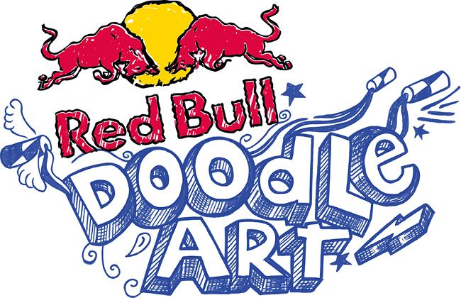 Red Bull Doodle Art - logo