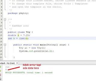 contoh konversi double ke int