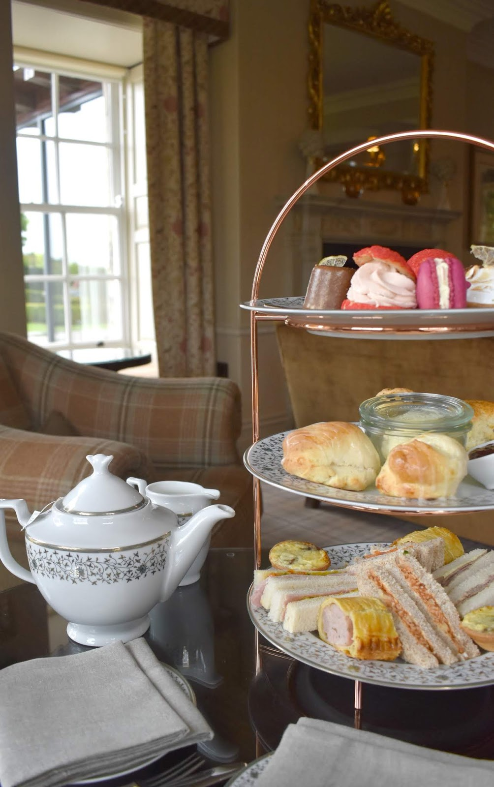 Afternoon Tea Review at Walwick Hall Hotel Northumberland