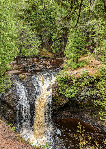 Snakepit Falls at Amnicon Falls State Park WI