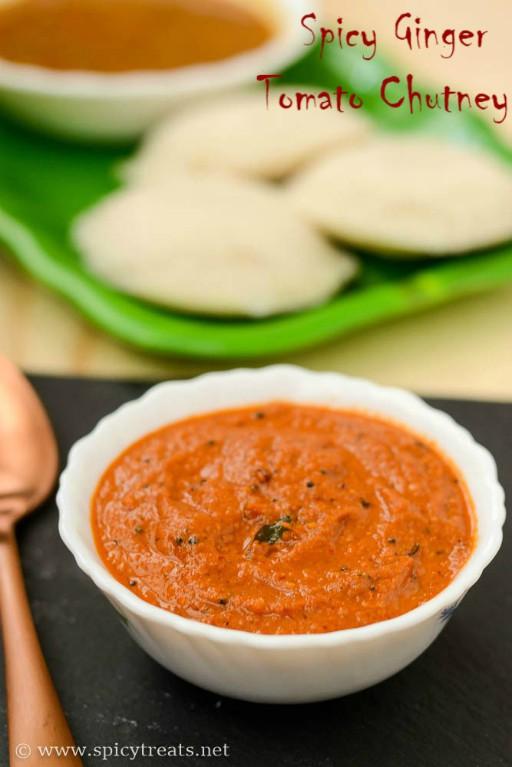 Andhra Ginger Chutney