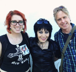 Becca, Joan Jett and Steve Moriarty