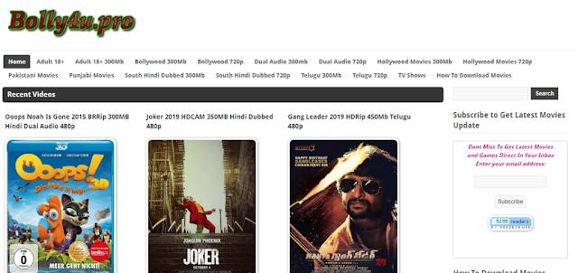 Bolly4u – 2019 New HD Bollywood Movies Download