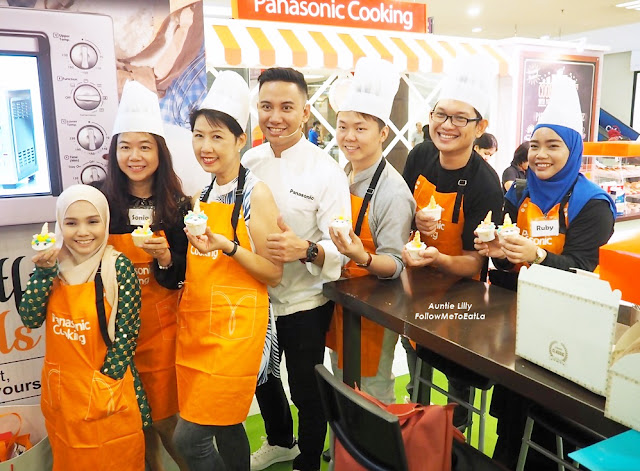 PANASONIC ELECTRIC OVEN Baking Workshop With Panasonic Cooking 1 Utama Shopping Centre