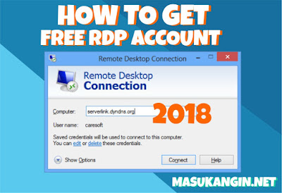 How to Get Free RDP Account 2018