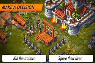 Game Lords & Castle - Medieval War Strategy MMO Apk For Android