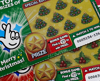 £1 Christmas Scratchcards From The National Lottery