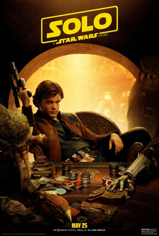 Solo Star Wars Young Han poster