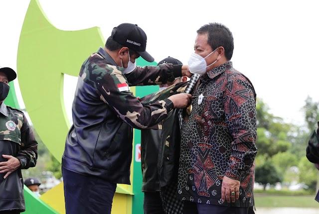 Menag Yaqut Cholil Apresiasi Kepedulian Gubernur Arinal pada Pengembangan SDM Unggul di Perguruan Tinggi Keagamaan Islam Negeri