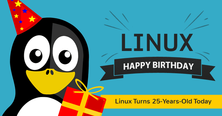 Happy Birthday! LINUX Turns 25 Years Old Today