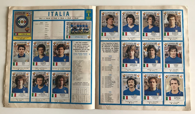 Figurine Italia Spagna '82