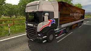 Schmitz Timber Trade trailer