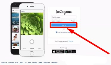 instagram sign up by facebook
