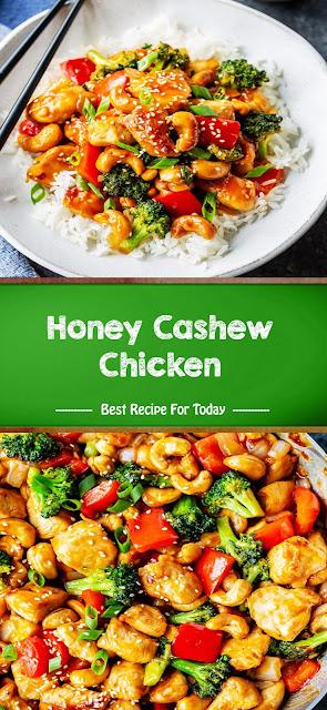 Sweet taste honey cashew chicken