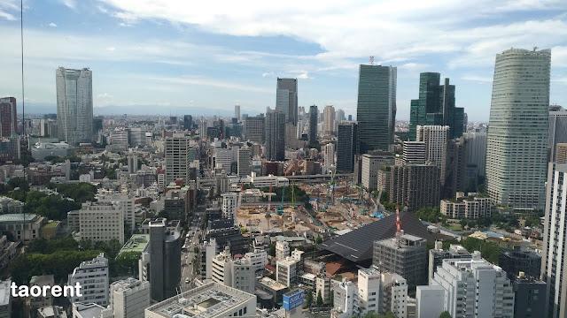 travelling ke tokyo tower