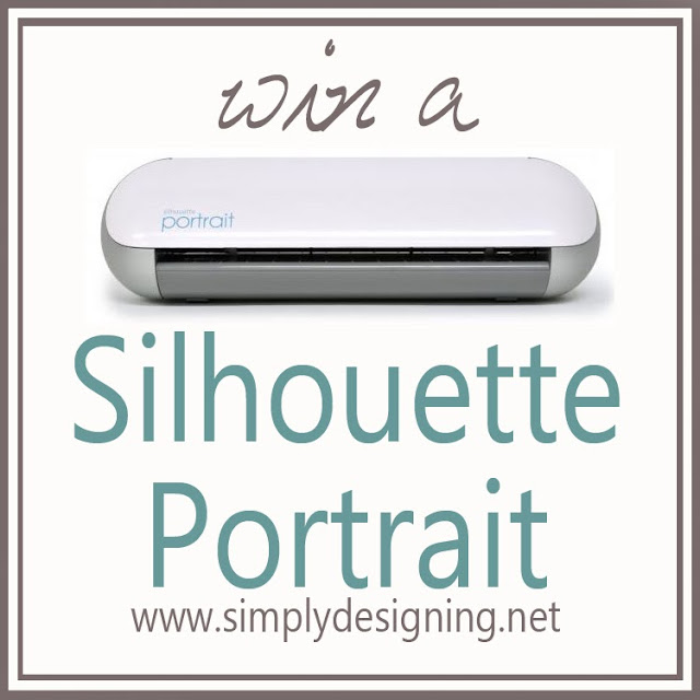 Win a Silhouette Portrait @SimplyDesigning #silhouette #giveaway