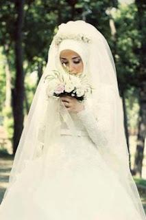 فساتين زفاف للمحجبات , صور فساتين افراح اسلامية , احدث فساتين زفاف محجبات