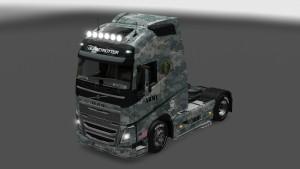 Army Skin Volvo 2012