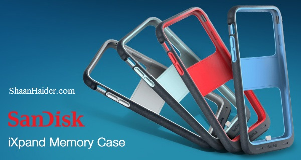 SanDisk iXpand Memory Case for iPhone 6 and iPhone 6S - Features, Specs and Price