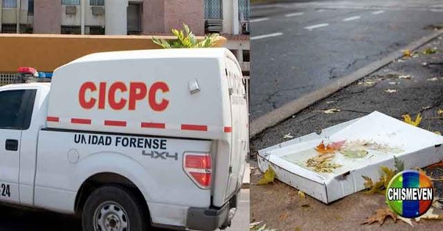DENTRO DE UNA CAJA DE PIZZA | Encontraron un feto en un basurero de San Jacinto