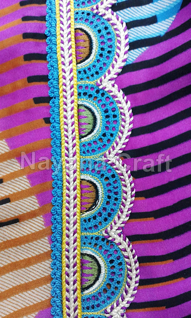New possibilities of embroidery designs, create new designs when it feels impossible, You know there is no end to design, Make this design for yourself, Just notice my style of making, This Design Is For Everyone,