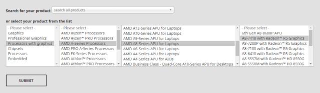 Pilih Driver AMD Radeon Radeon Adrenaline 2020