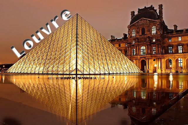 GIMP: Tratamiento de texto Louvre