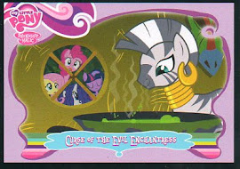 My Little Pony Curse of the Evil Enchantress Series 1 Trading Card