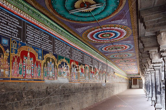 Tamilnadu tourism srivilliputhur andal kovil virudhunagar for Mural fish in tamil