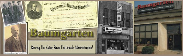 Baumgarten printers and rubber stamps in Baltimore