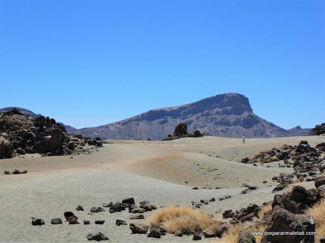paisaje del Parque Nacional del Teide