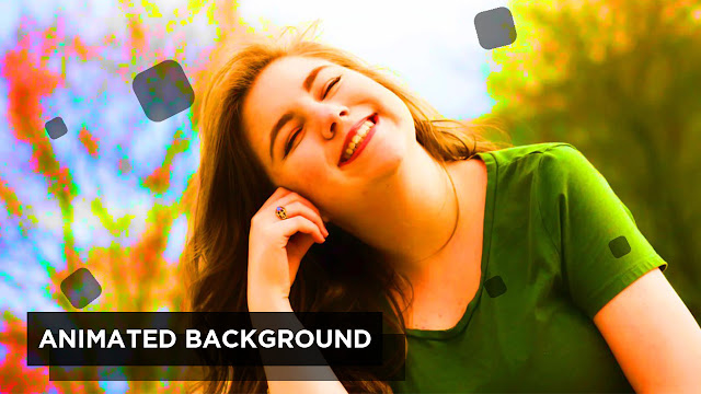 Animated Background with Pure CSS and Html   No Javascript no Jquery