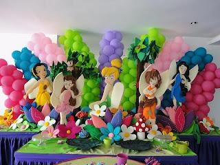 Decoracion Tinkerbell para Fiestas Infantiles, parte 4