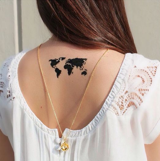 Mytattooland world map tattoos advertisement continue reading below gumiabroncs Images