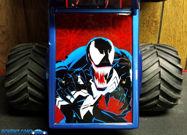 Tamiya Clod Buster Venom Mural
